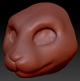 Gender Neutral Bunny Head Base Variant 1
