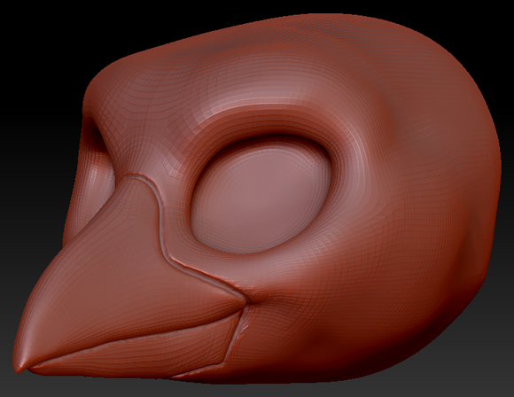 Kemono Raven Head Base