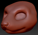Gender Neutral Weasel Head Base