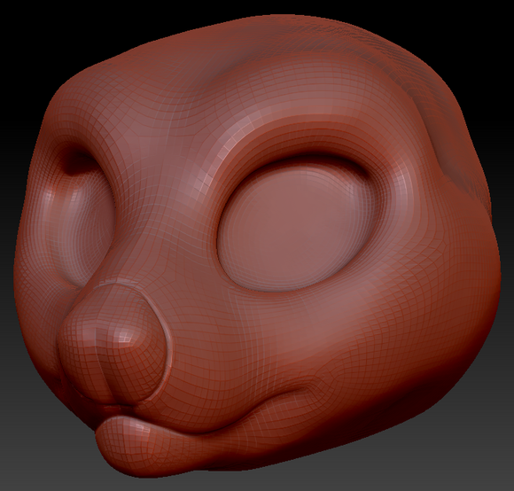 Kemono Tasmanian Devil Head Base
