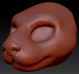 Feminine Sea Otter Head Base