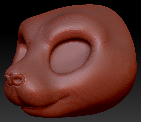 Kemono Rat Head Base