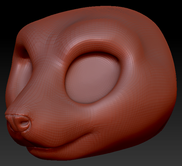 Kemono Mouse Head Base