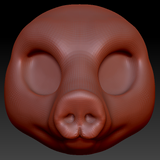 Kemono Pig Head Base