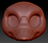 Kemono Platypus Head Base