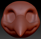 Feminine Toony Bird Head Base Variant 2