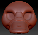 Feminine Platypus Head Base