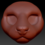 Feminine Mink Head Base