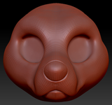 Kemono Pitbull Head Base