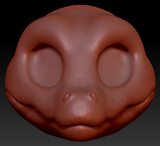 Kemono Alligator Head Base