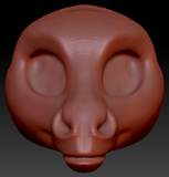 Kemono Donkey Head Base