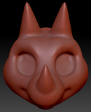Kemono Triceratops Head Base