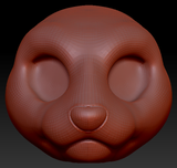 Kemono Mink Head Base