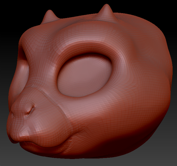 Kemono Birdcat Head Base