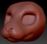 Feminine Seal Head Base