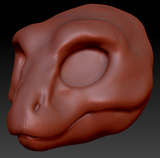 Kemono T-Rex Head Base