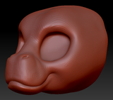 Kemono Hippo Head Base