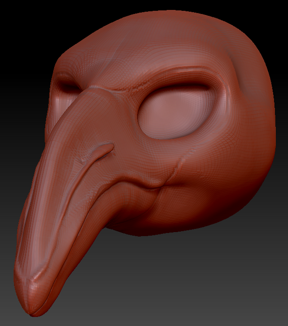 Feminine Flamingo Head Base