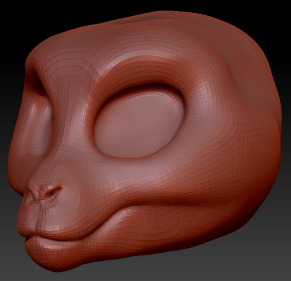 Kemono Macaque Head Base
