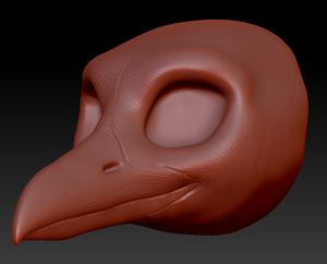 Feminine Seagull Head Base