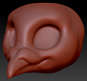 Kemono Pigeon Head Base
