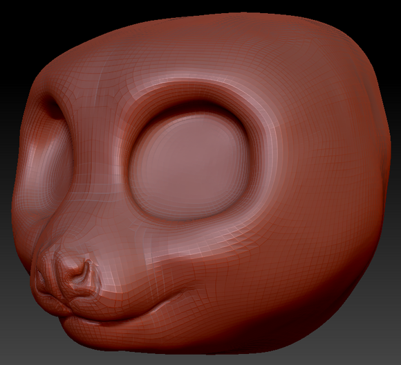 Slow Loris Head Base