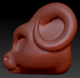Kemono Round-nosed Dragon Head Base Complex Variant 1