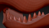 Small Shark Realistic Style Jawset