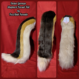 "Custom Medium Fursuit Tails (16"" to 25"")"