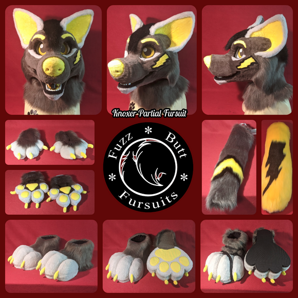 Custom Partial Fursuits