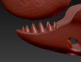 Medium Shark Realistic Style Jawset