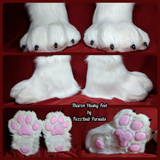 Custom Fursuit Footpaws