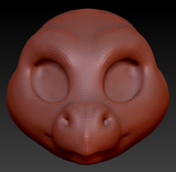 Kemono Point Nosed Dragon Head Base