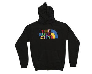 THE BULL CITY Hoodie (Black/CMYK)
