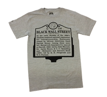 Load image into Gallery viewer, Black Wall Street ( Sports Grey)