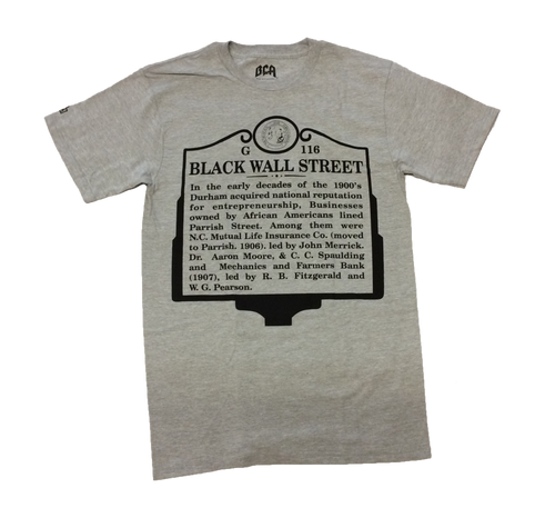 Black Wall Street ( Sports Grey)