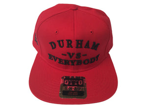 DURHAM -VS-  EVERYBODY SnapBack (RED)