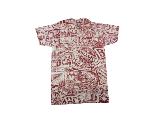 BCA Stain Tee (White/Red)