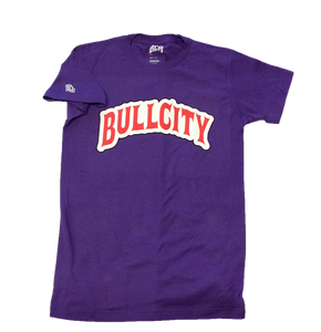 BULLCITY x BACKWOODS Tee ( Berry)