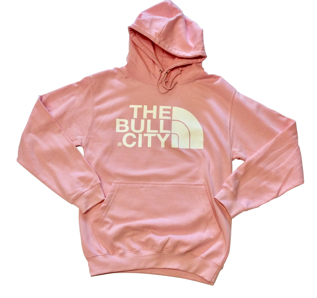 The Bull City Hoodie ( Baby Pink)