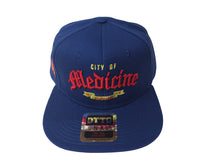Load image into Gallery viewer, City Of Medicine Snapback (Royal)