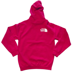The Bull City Hoodie ( Hot Pink)