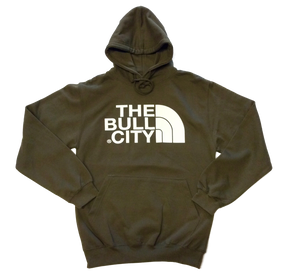 The Bull City Hoodie ( Olive Green)