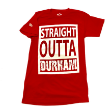 Load image into Gallery viewer, Straight Outta Durham Tee (Red)