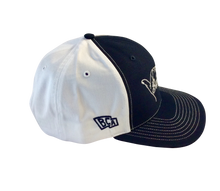 Load image into Gallery viewer, BullCity Fist  Trucker Mesh SnapBack ( Navy/White)