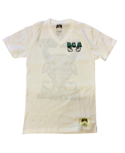 Load image into Gallery viewer, BCA Gothic Bull Tee (White)