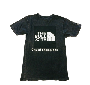 The Bull City / City of Champions Tee( Vintage Black)