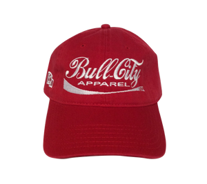 BullCity Cola Dad Cap (Red)