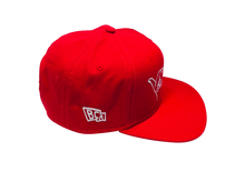 Load image into Gallery viewer, BullCity Fist Snapback (red/white)