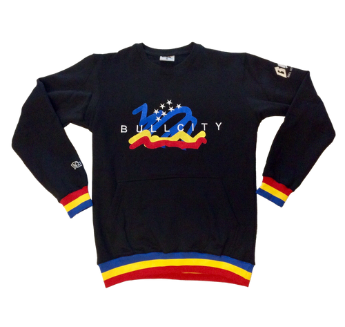 BULLCITY Scribble Flag 2.0 Crew Neck